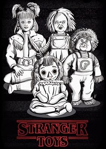 Camiseta Stranger Toys