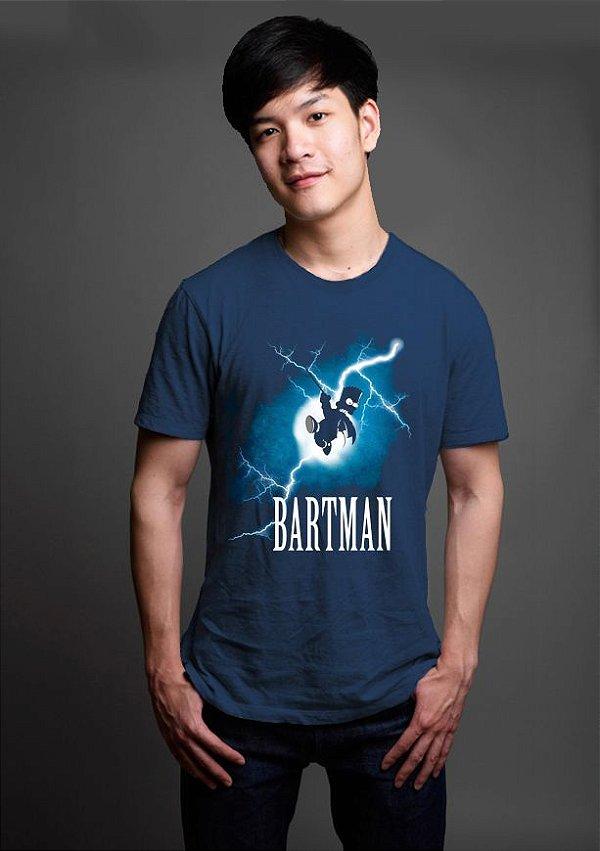 Camiseta Masculina  Simpson Bartman - Nerd e Geek - Presentes Criativos