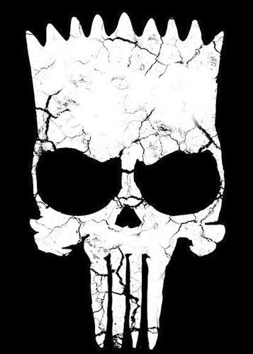 Camiseta Simpson Punisher