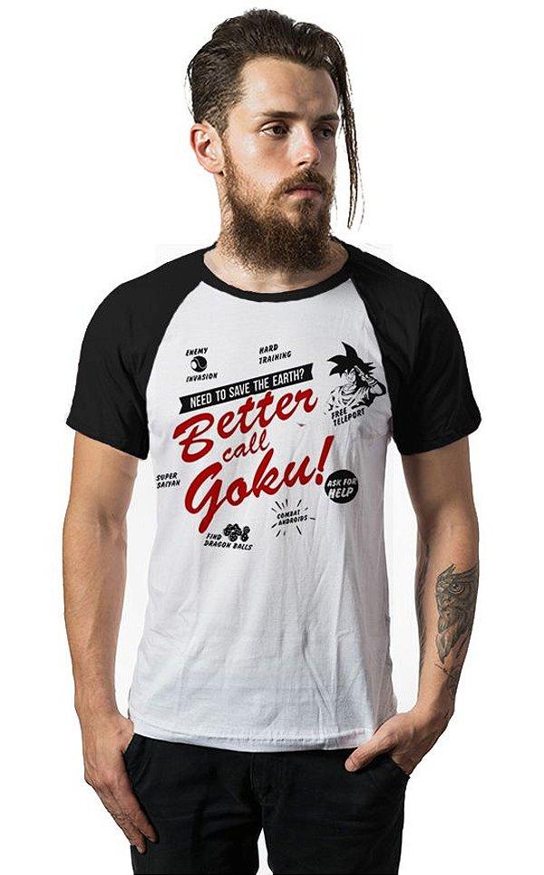 Camiseta Raglan Dragon Ball Z