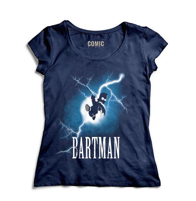 Camiseta Feminina Simpson Bartman