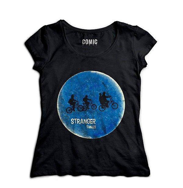 Camiseta Feminina Stranger Things - Nerd e Geek - Presentes Criativos