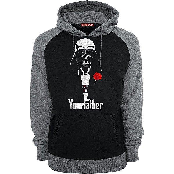 Blusa com Capuz Darth Vader - Your Father