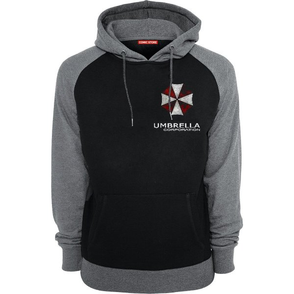 771126a14 Moletom com Capuz Resident Evil Umbrella Corporation - Nerd e Geek ...