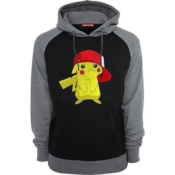 Blusa com Capuz Pikachu - Pokemon