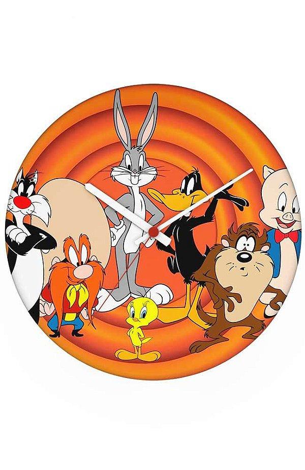 Relógio de Parede Looney Tunes