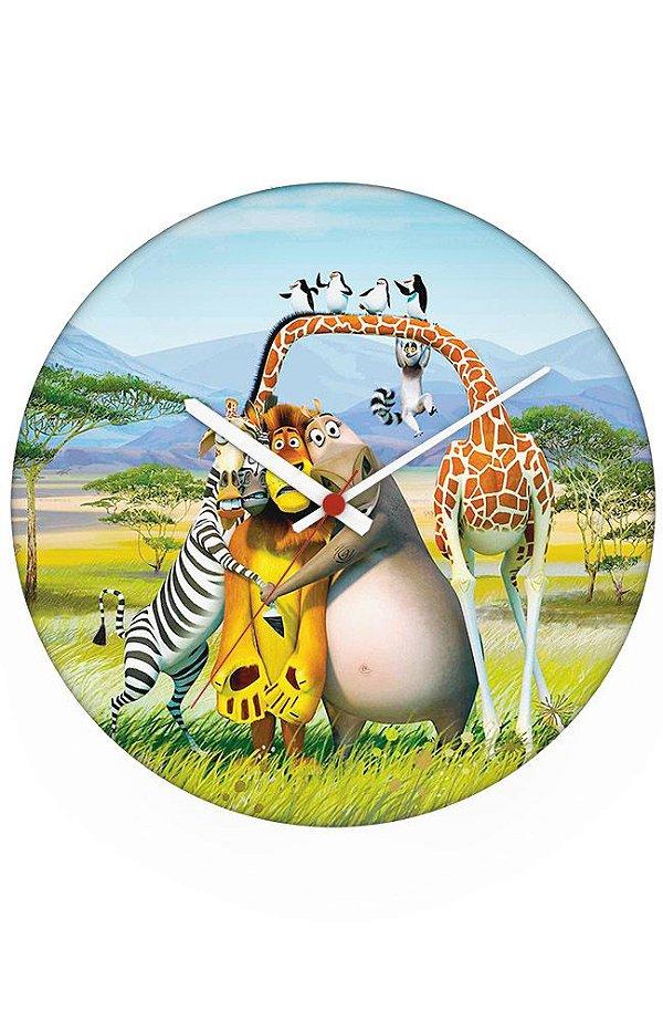 Relógio de Parede Madagáscar