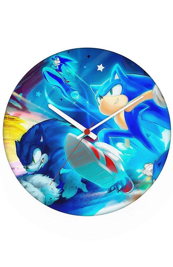 Relógio de Parede Sonic - Game