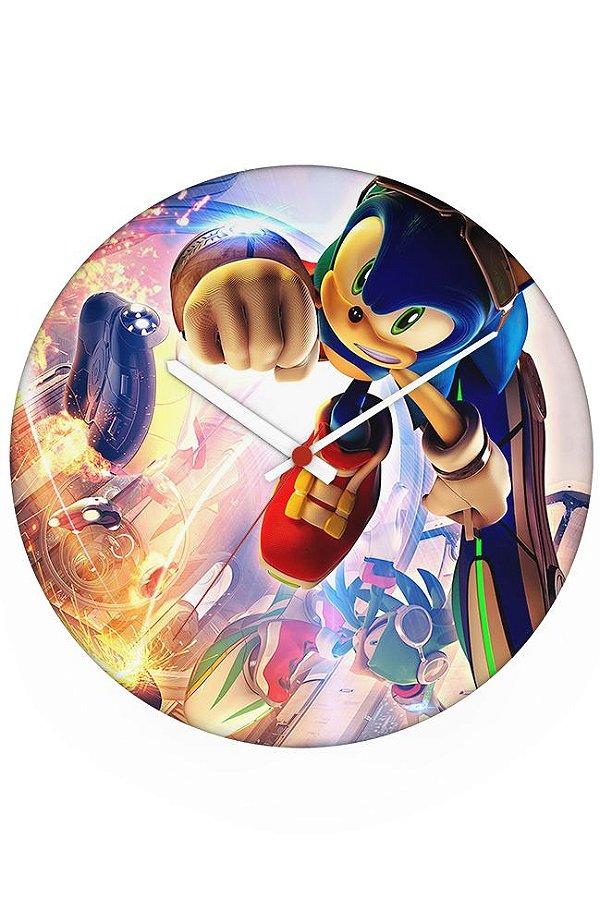 Relógio de Parede Sonic