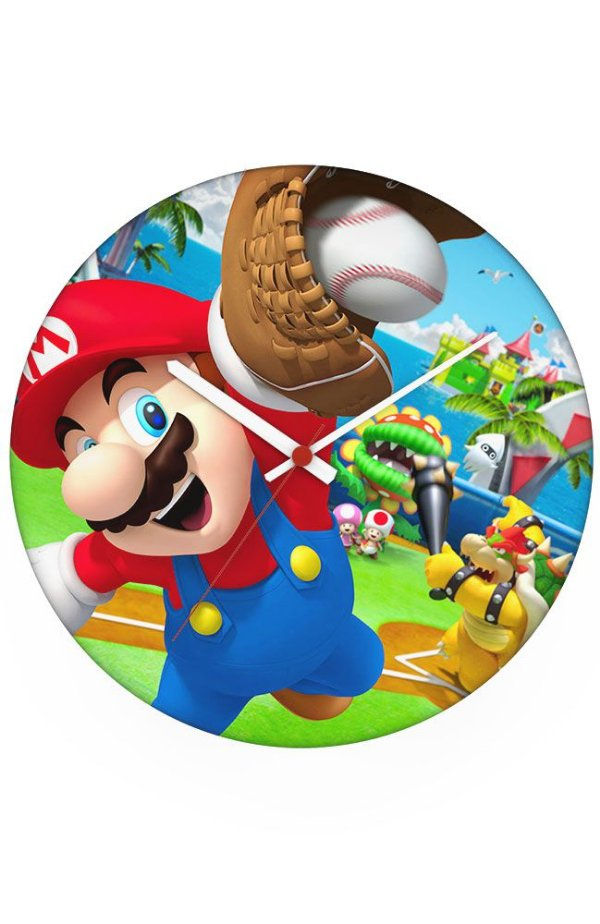 Relógio de Parede Super Mario Jogador