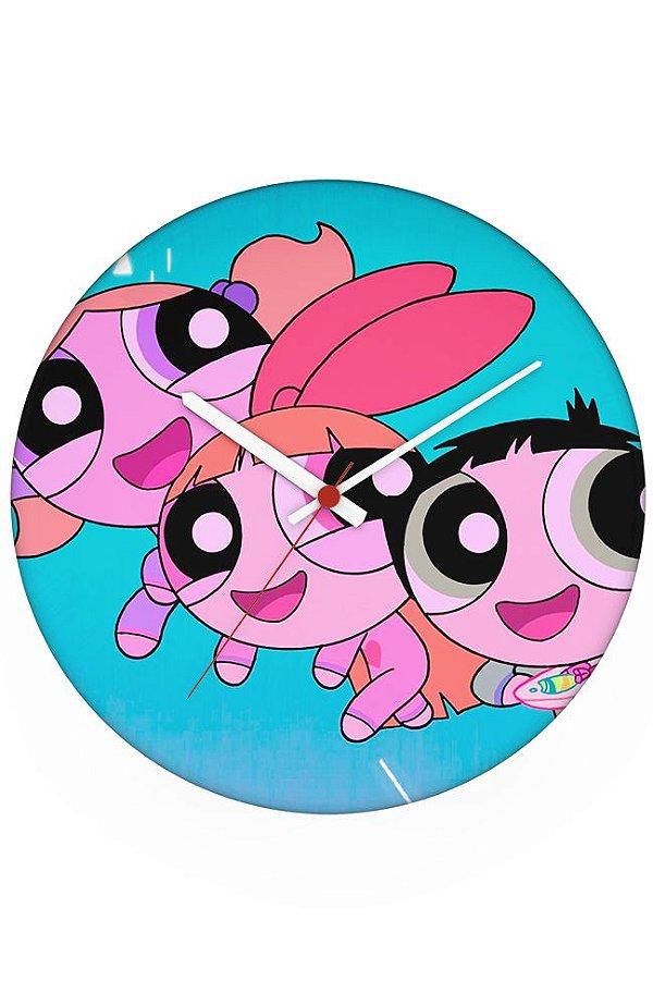 Relógio de Parede Super Poderosas