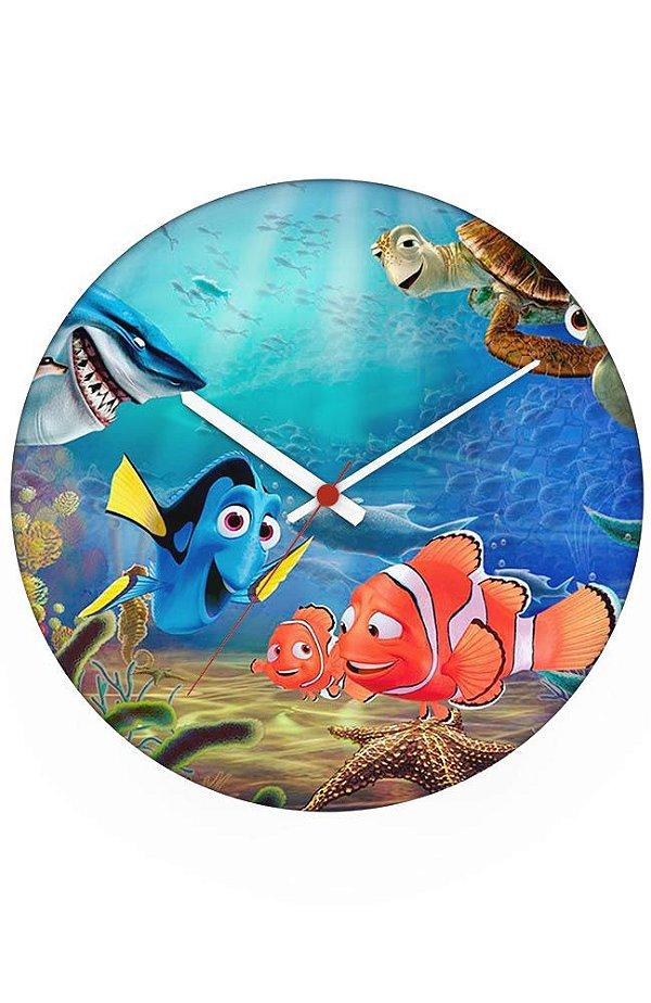 Relógio de Parede Procurando Nome - Dory