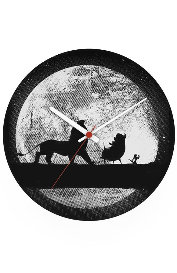 Relógio de Parede Rei Leão - Hakuna Matata