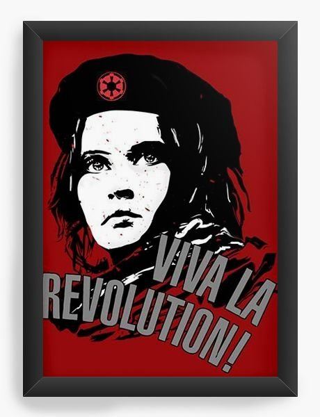 Quadro Decorativo Viva la Revolution - Galactic