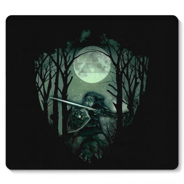 Mouse Pad Link Florest 23X20 - Nerd e Geek - Presentes Criativos