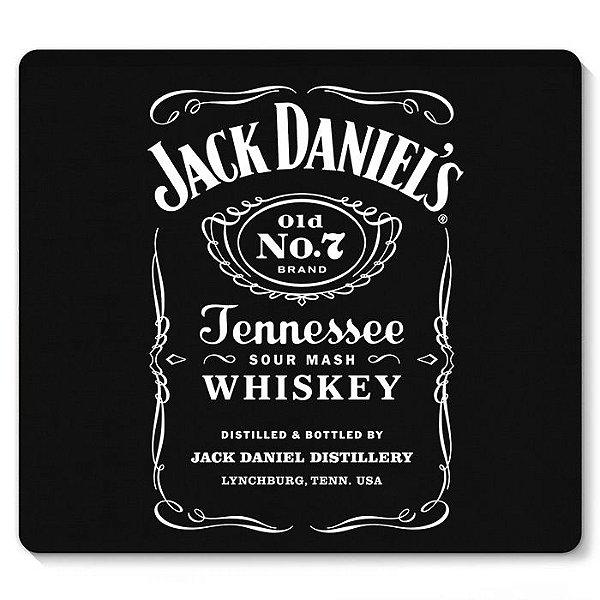Mouse Pad Jack Daniels 23X20 - Nerd e Geek - Presentes Criativos