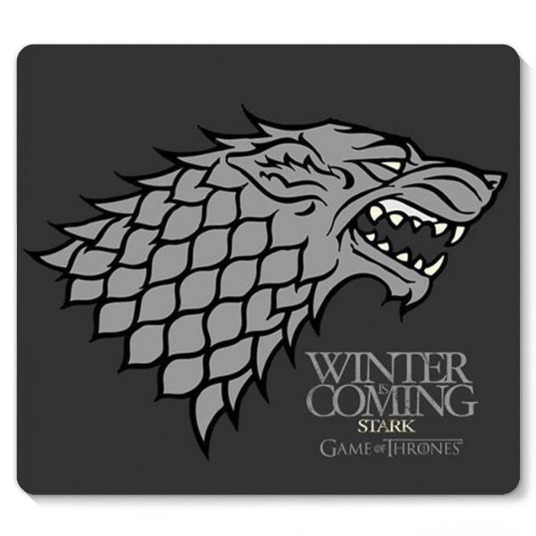 Mouse Pad Game of Thrones 23x20 - Nerd e Geek - Presentes Criativos