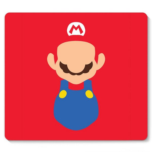 Mouse Pad Super Mario 23x20 - Nerd e Geek - Presentes Criativos