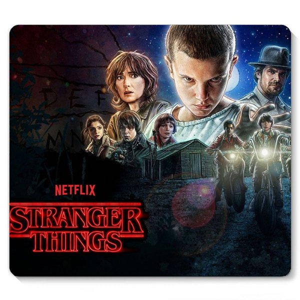 Mouse Pad Stranger Things 23x20 - Nerd e Geek - Presentes Criativos