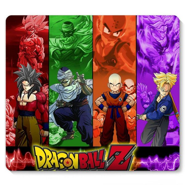 Mouse Pad Dragon Ball Z 23x20 - Nerd e Geek - Presentes Criativos