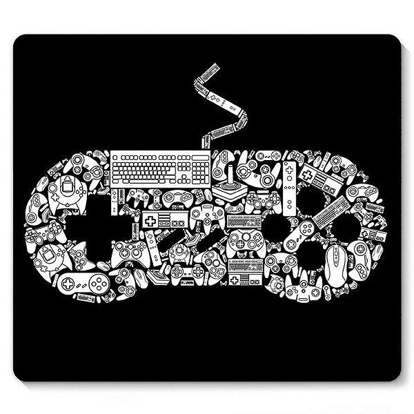 Mouse Pad Nintendo 23x20 - Nerd e Geek - Presentes Criativos