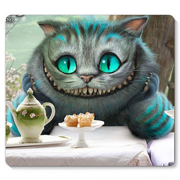 Mouse Pad Alice no País das Maravilhas - Cat 23x20