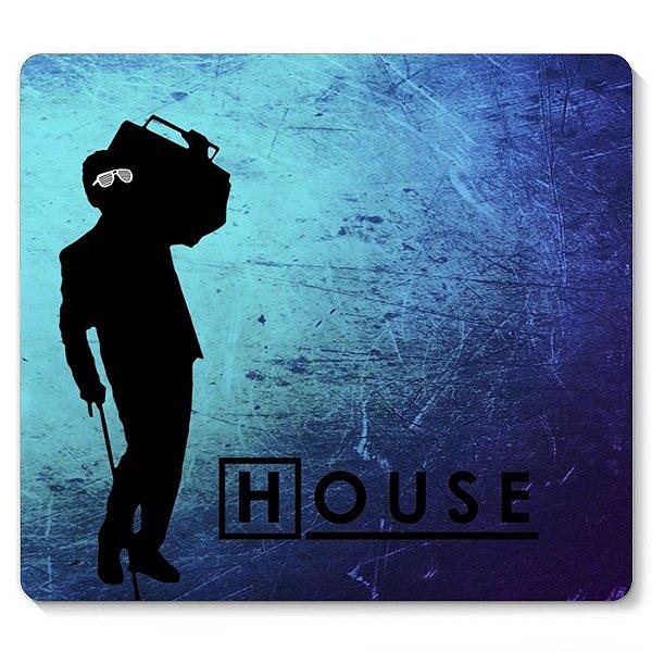 Mouse Pad Dr House 23x20 - Nerd e Geek - Presentes Criativos