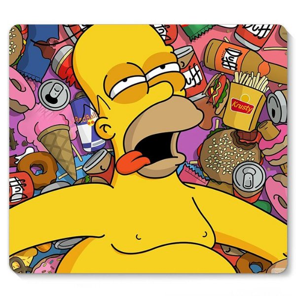 Mouse Pad Homer 23x20