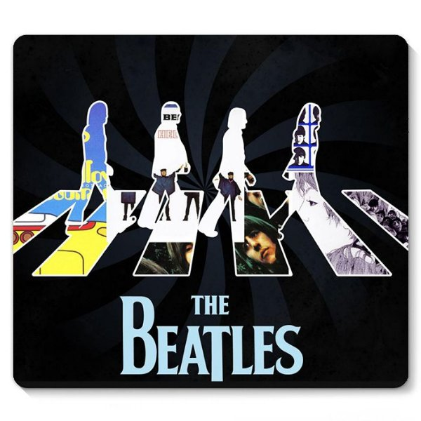 Mouse Pad The Beatles 23x20 - Nerd e Geek - Presentes Criativos