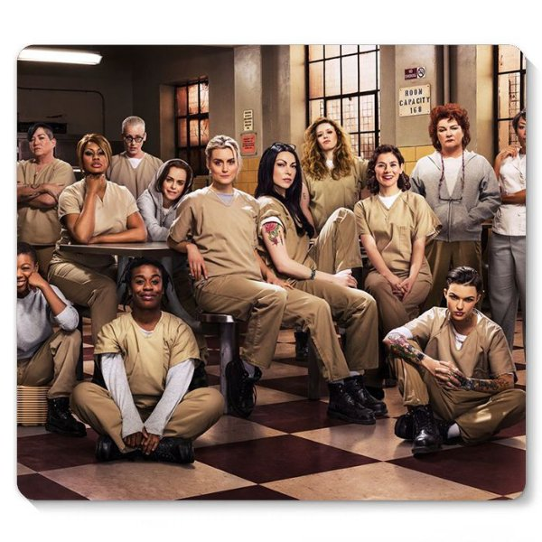 Mouse Pad Orange Is the New Black 23x20 - Nerd e Geek - Presentes Criativos