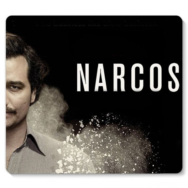 Mouse Pad Narcos 23x20