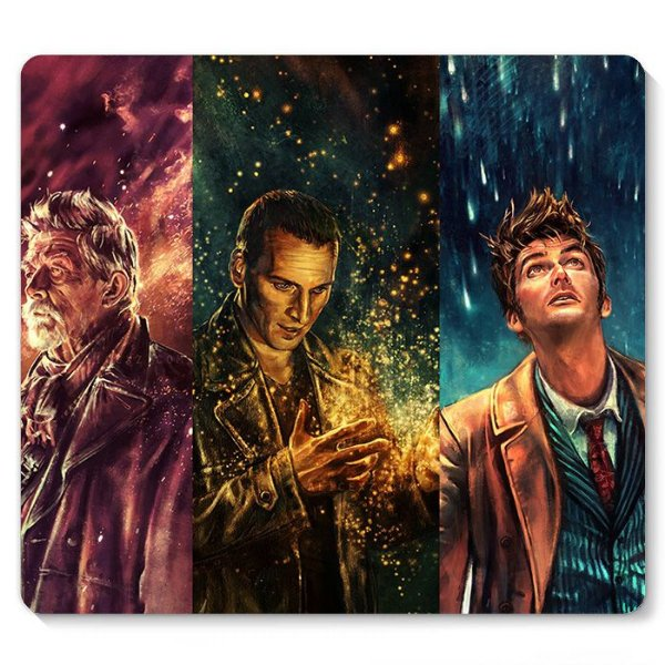 Mouse Pad Doctor Who 23x20 - Nerd e Geek - Presentes Criativos