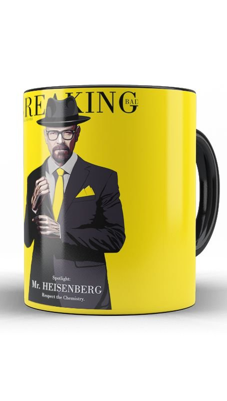 Caneca Breaking Bad: A Química do Mal - Nerd e Geek - Presentes Criativos