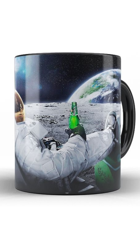 Caneca Astronauta - Nerd e Geek - Presentes Criativos