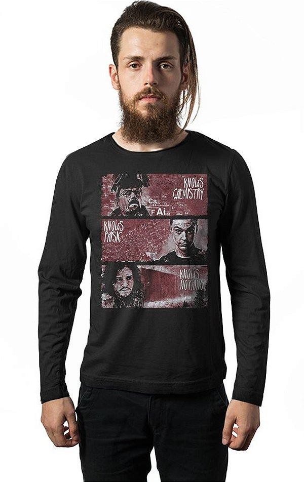 Camiseta Manga Longa Game of Thrones - Heisenberg