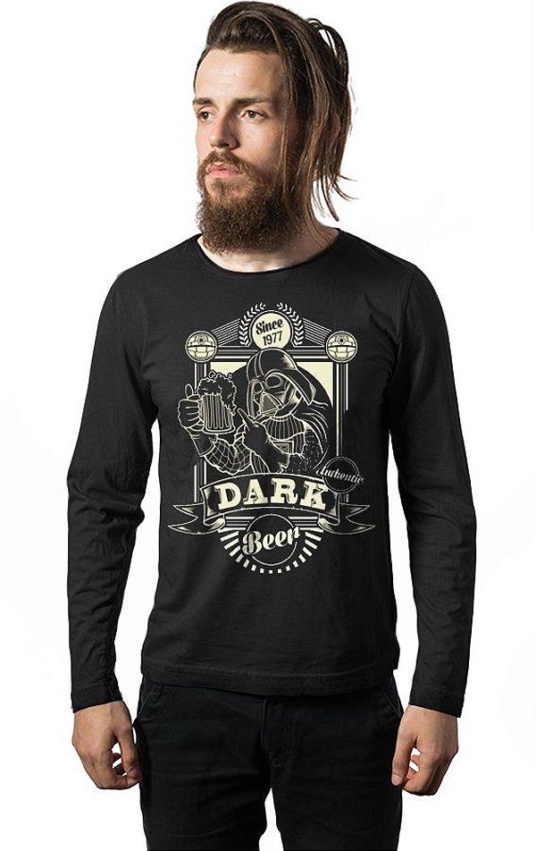 Camiseta Manga Longa Darth Vader - Since 1977