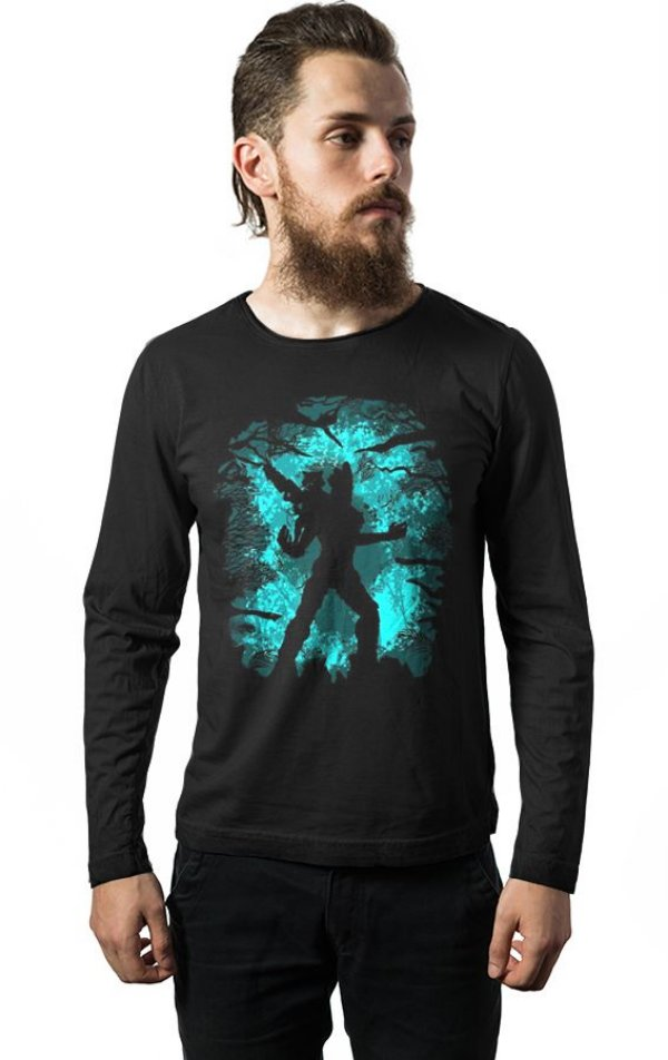 Camiseta Manga Longa Groot - Guardiões
