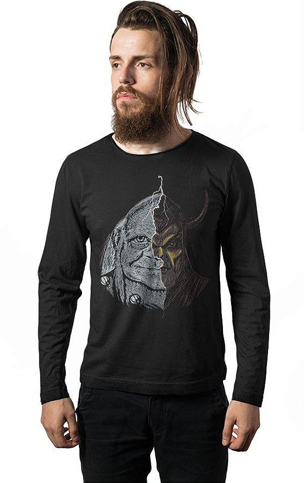 Camiseta Manga Longa Caverna do Dragão - Vingador