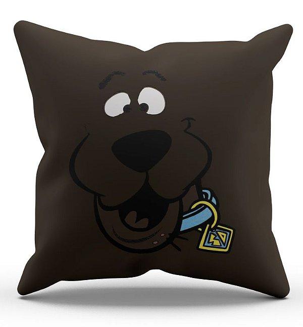 Almofada Decorativa  Scooby Doo 45x45 - Nerd e Geek - Presentes Criativos