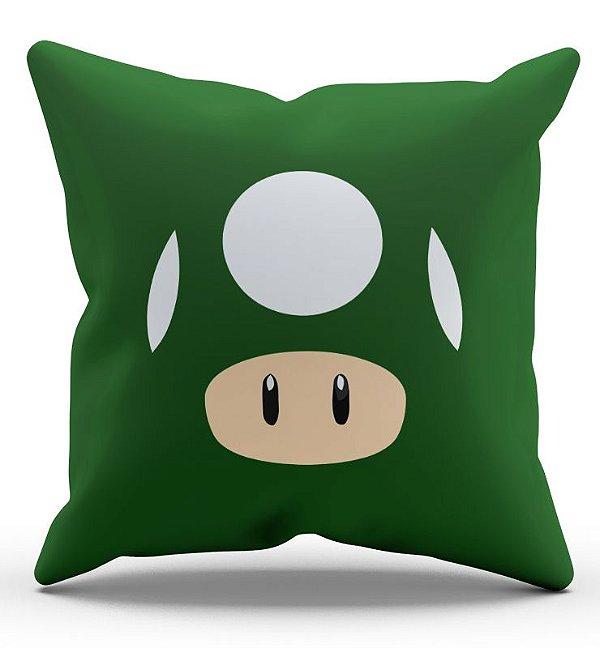 Almofada Decorativa  Toad 45X45 - Nerd e Geek - Presentes Criativos