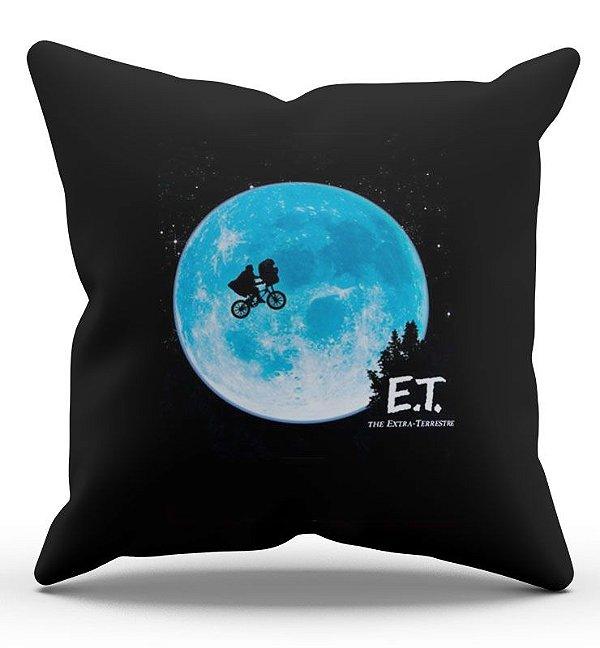 Almofada Decorativa  E.T O Extraterrestre 45x45 - Nerd e Geek - Presentes Criativos