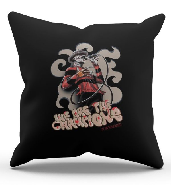 Almofada Decorativa  Skull Freddy 45x45 - Nerd e Geek - Presentes Criativos