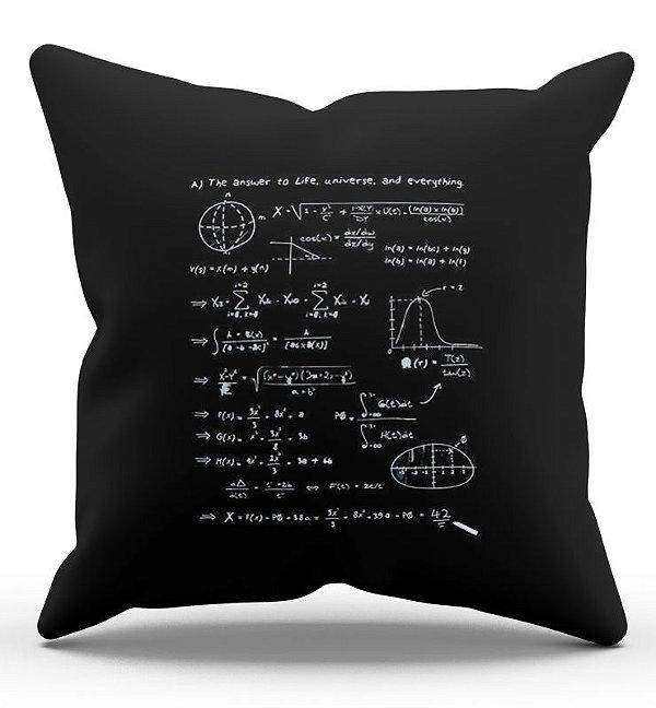 Almofada Decorativa  Formula 45x45 - Nerd e Geek - Presentes Criativos