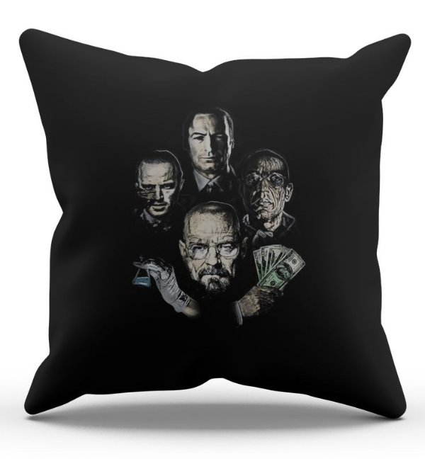Almofada Decorativa  Breaking Bad 45x45 - Nerd e Geek - Presentes Criativos