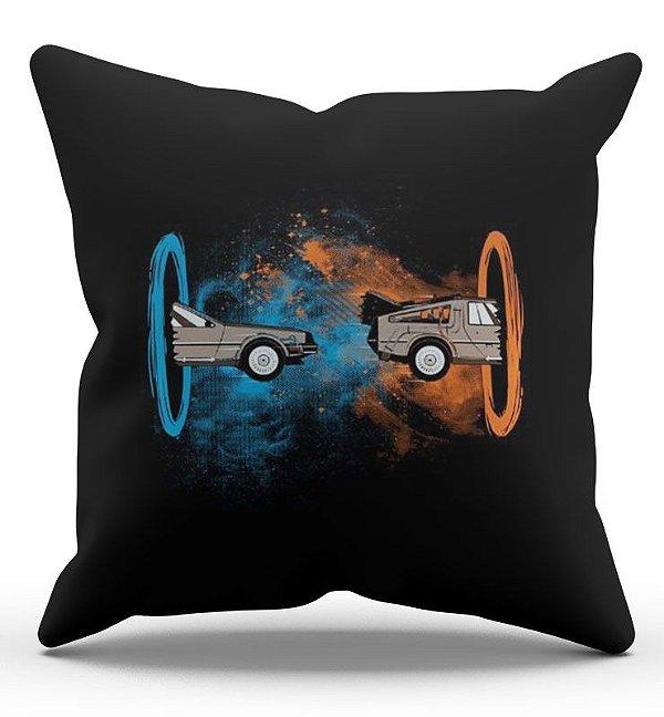 Almofada Decorativa  De Volta para o Futuro 45x45 - Nerd e Geek - Presentes Criativos