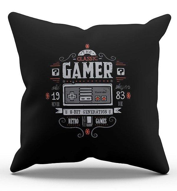 Almofada Decorativa  Gamer 45x45 - Nerd e Geek - Presentes Criativos