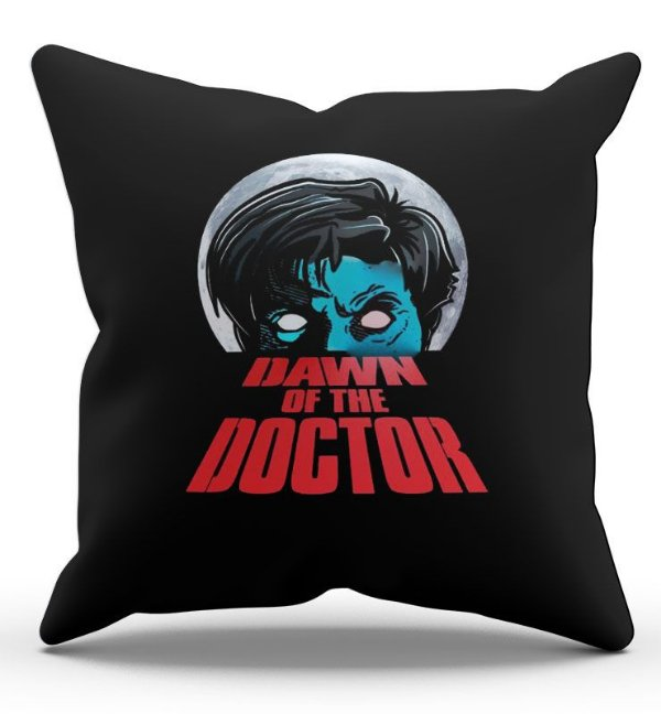Almofada Decorativa  The Doctor 45x45 - Nerd e Geek - Presentes Criativos