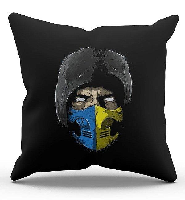Almofada Decorativa  Scorpion 45x45 - Nerd e Geek - Presentes Criativos