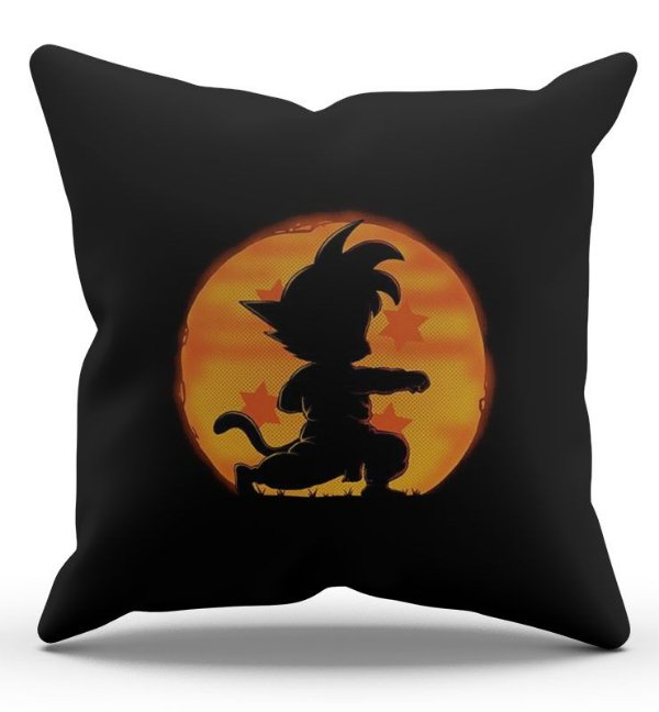 Almofada Decorativa  Dragon Ball 45x45 - Nerd e Geek - Presentes Criativos