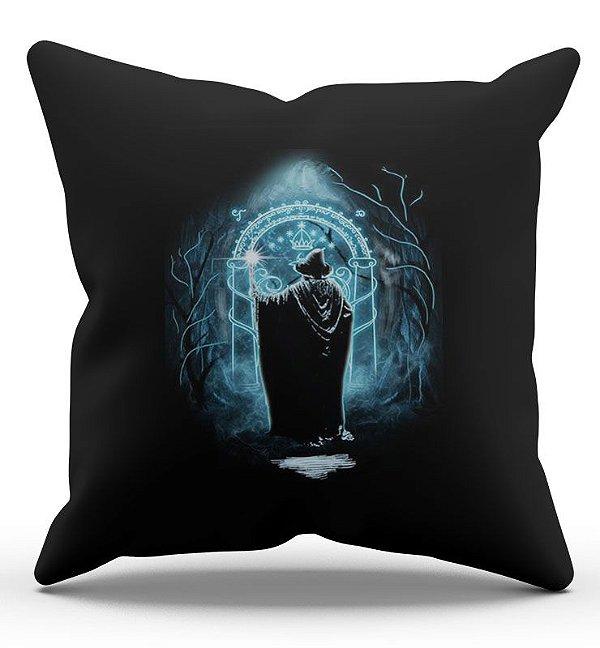 Almofada Decorativa  O Senhor dos Anéis Gandalf 45x45 - Nerd e Geek - Presentes Criativos